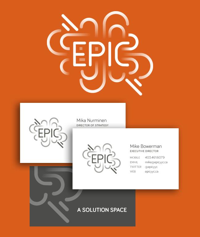 Branding for EPIC Calgary
