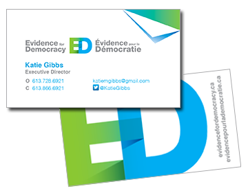 Evidence for Democracy card