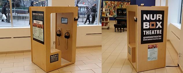 Nur Box at Calgary Public Library