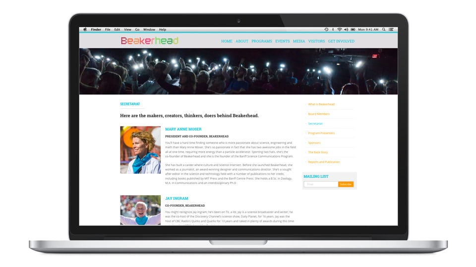 Beakerhead website