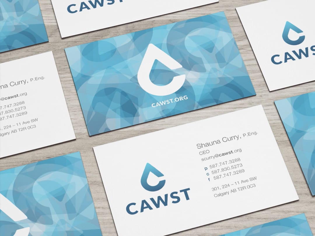 CAWST business card