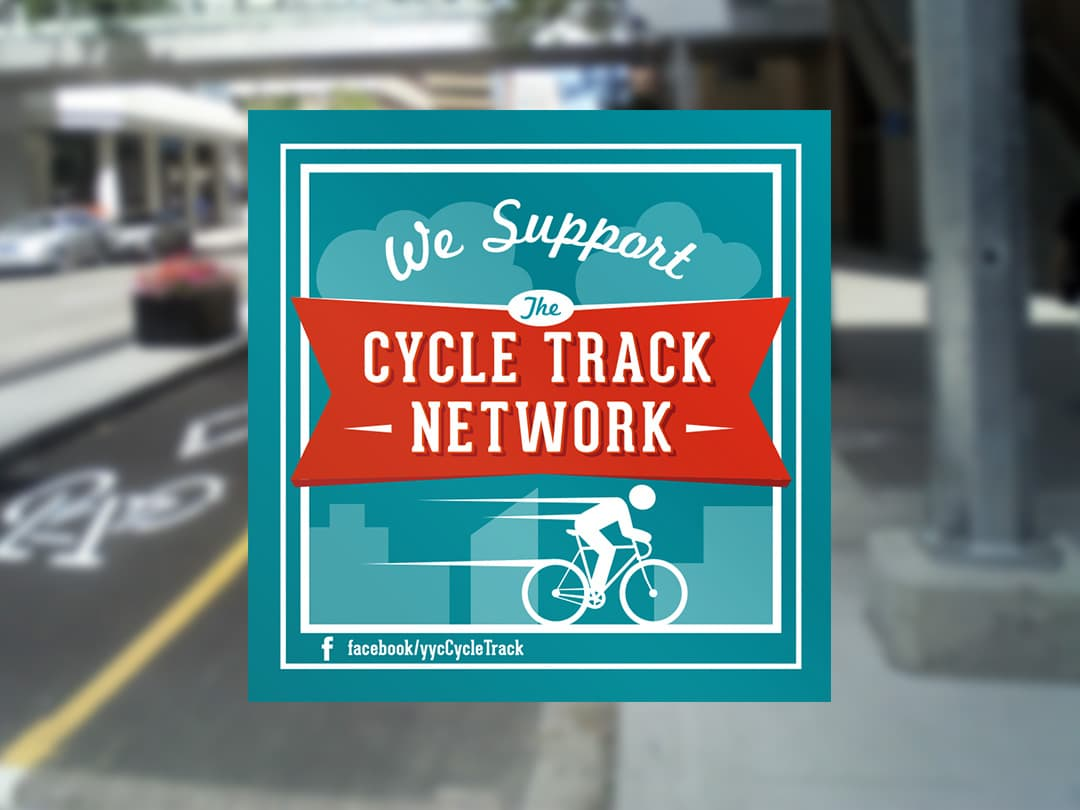 Cycle Track Campaign Graphic