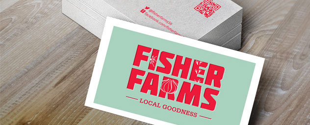 Fisher Farms Business Cards