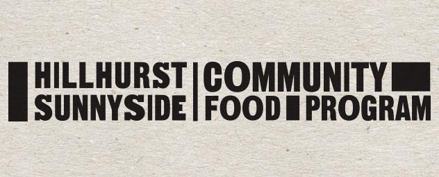 Hillhurst Sunnyside Community Food Program wordmark