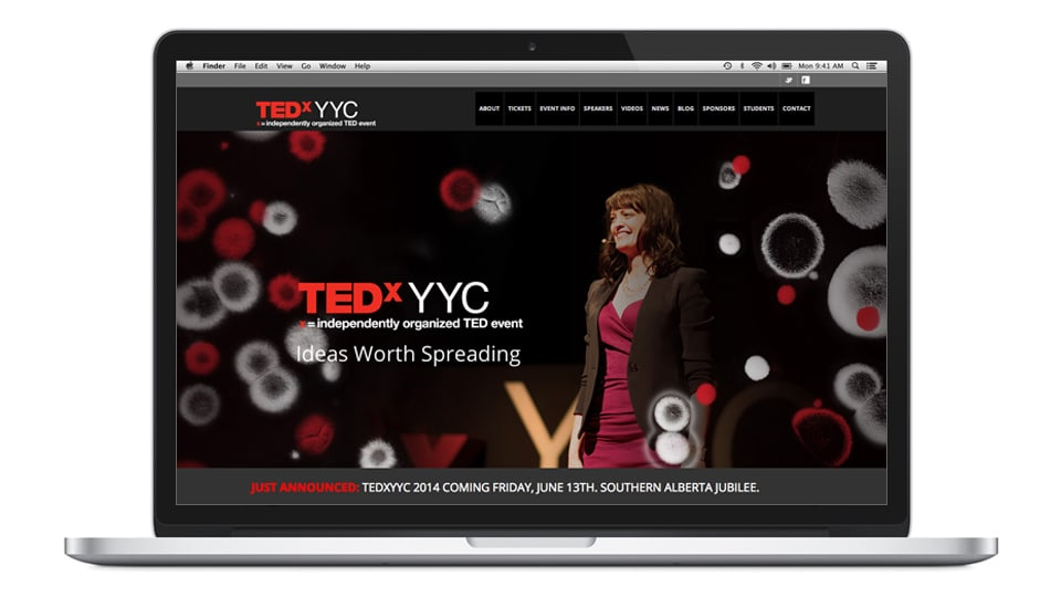 TEDxYYC Home page