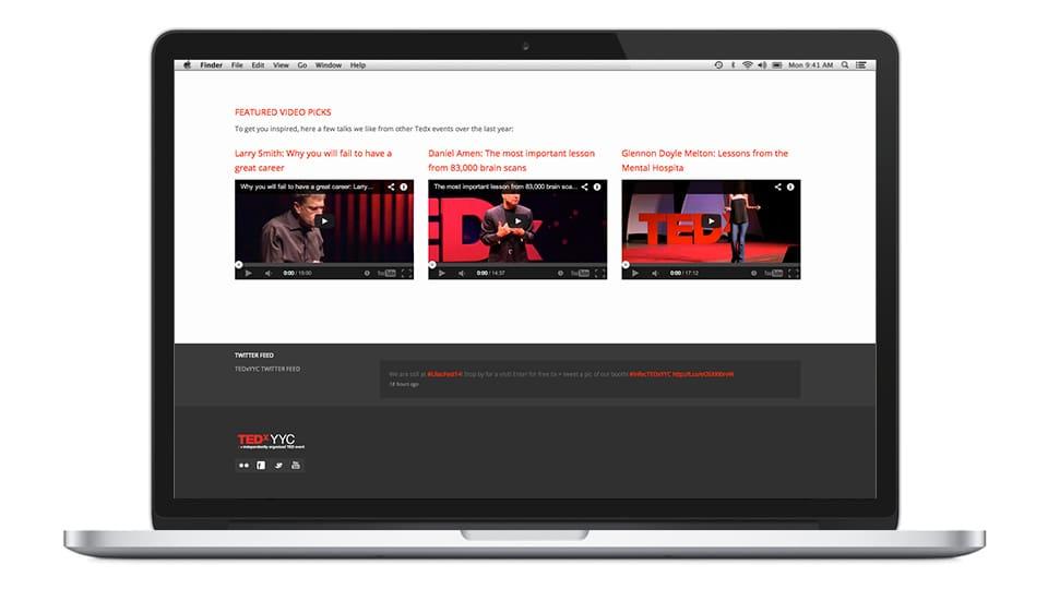 TEDxYYC Portfolio