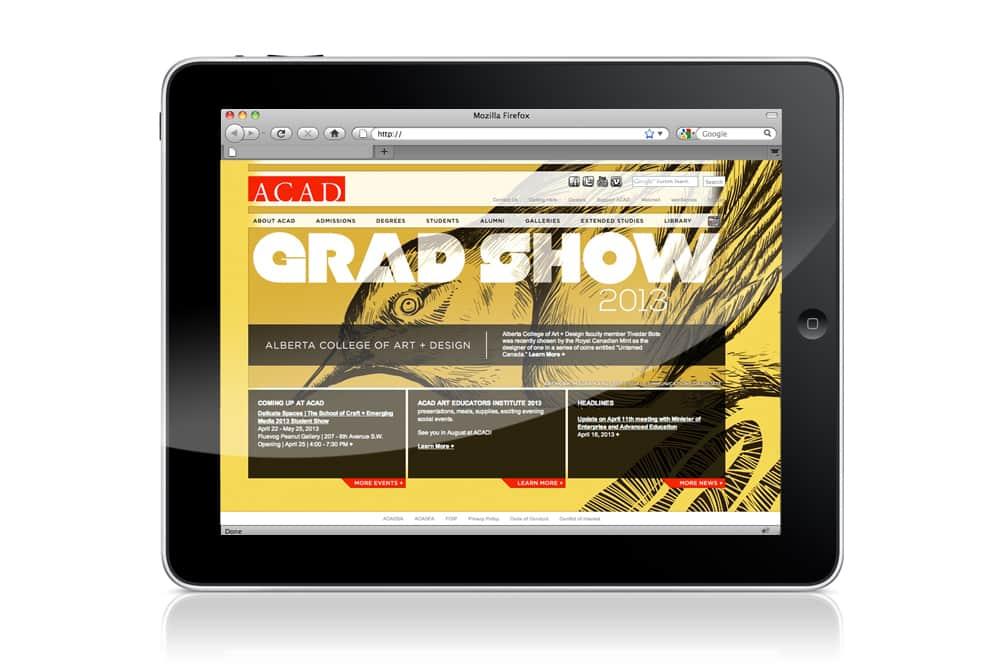 ACAD Grad Show mobile