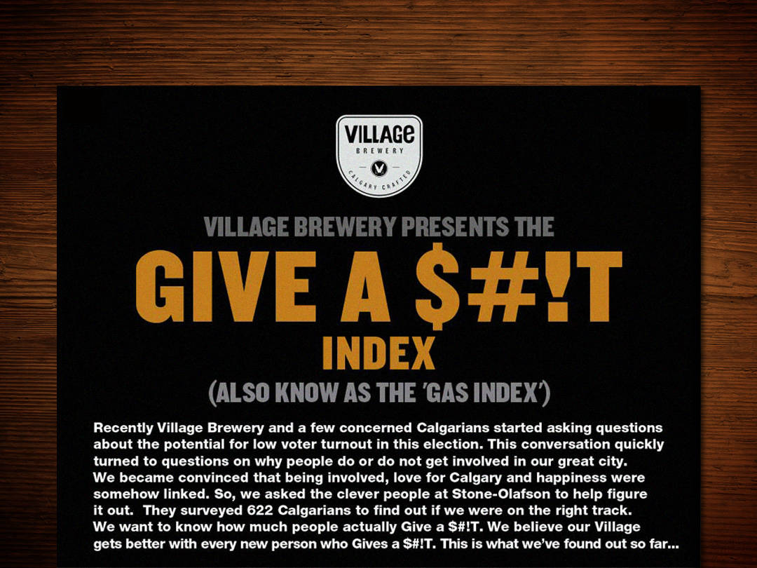 Village Brewery infographic
