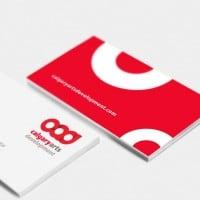 Calgary Arts Development business card