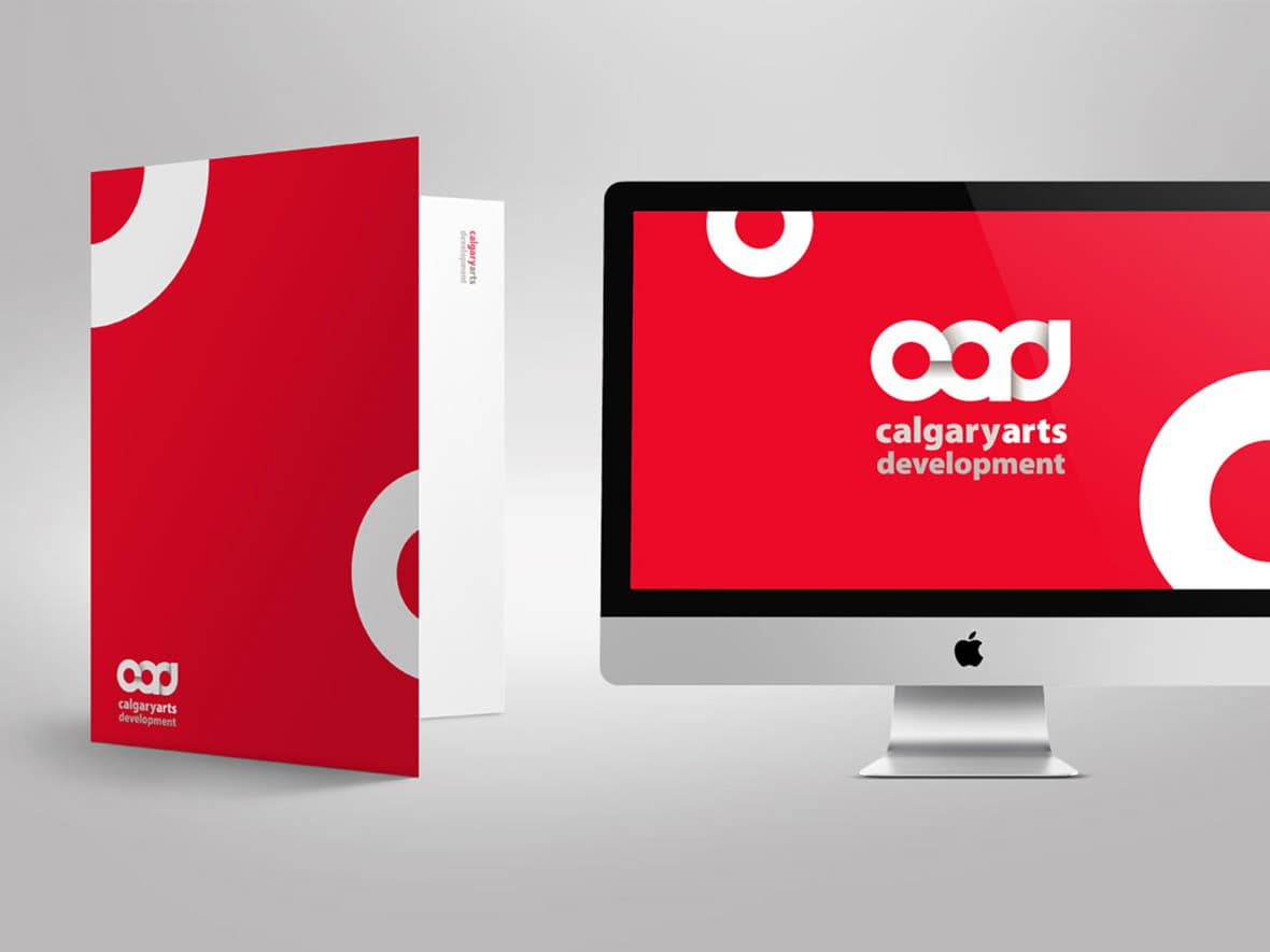 Calgary Arts Development branding
