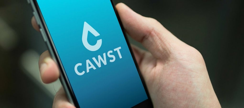 CAWST on Mobile screen