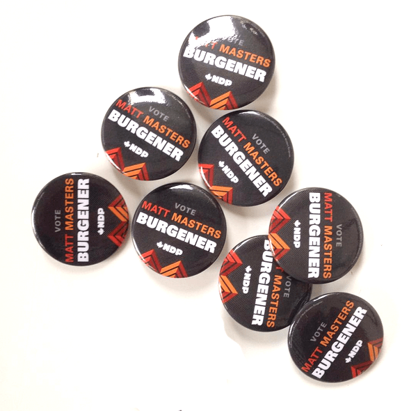 NDP buttons