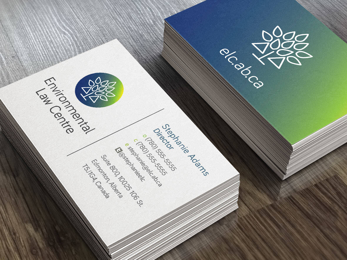 Environmental Law Centre Business Cards