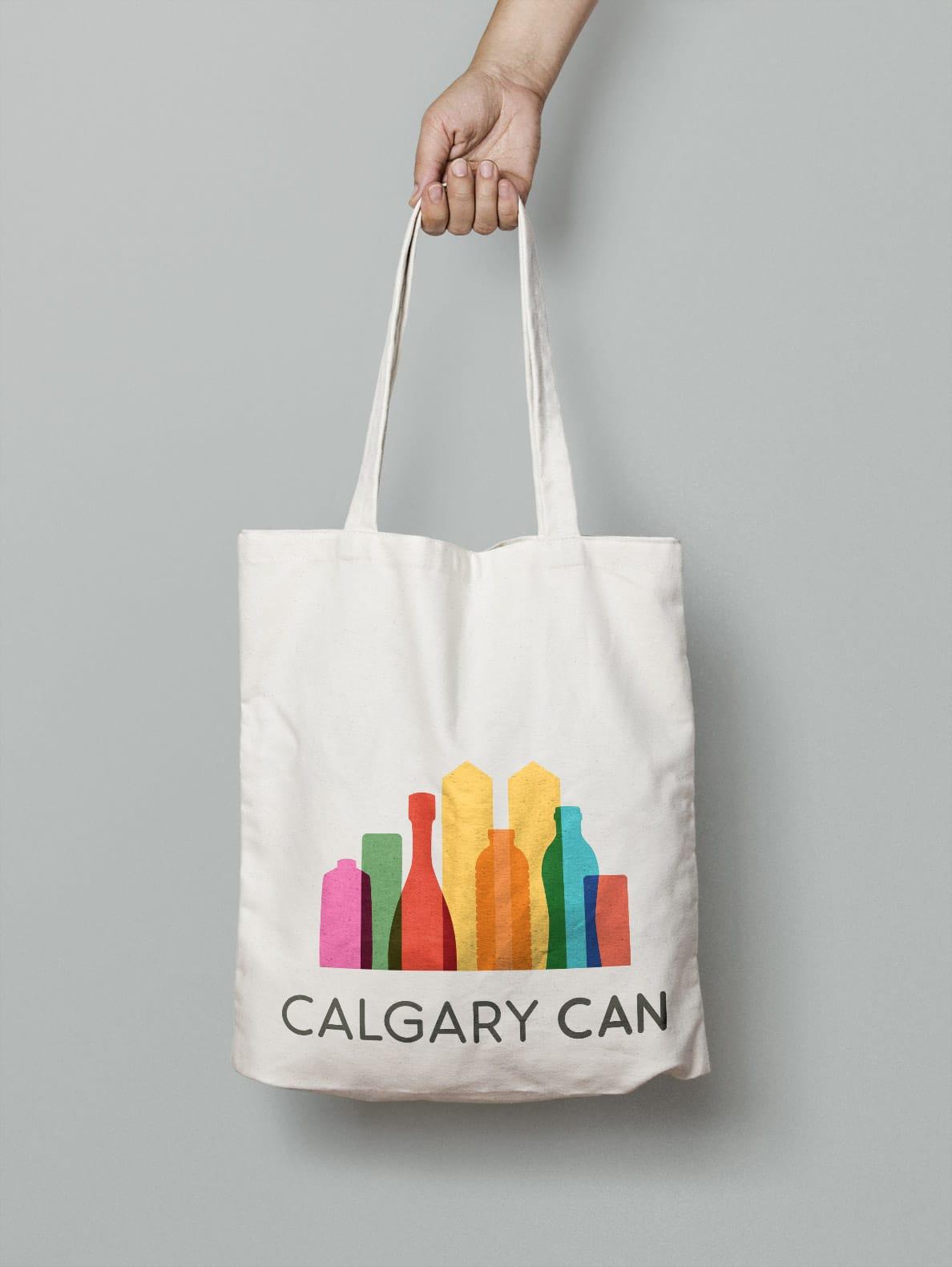 Calgary Can Tote Bag