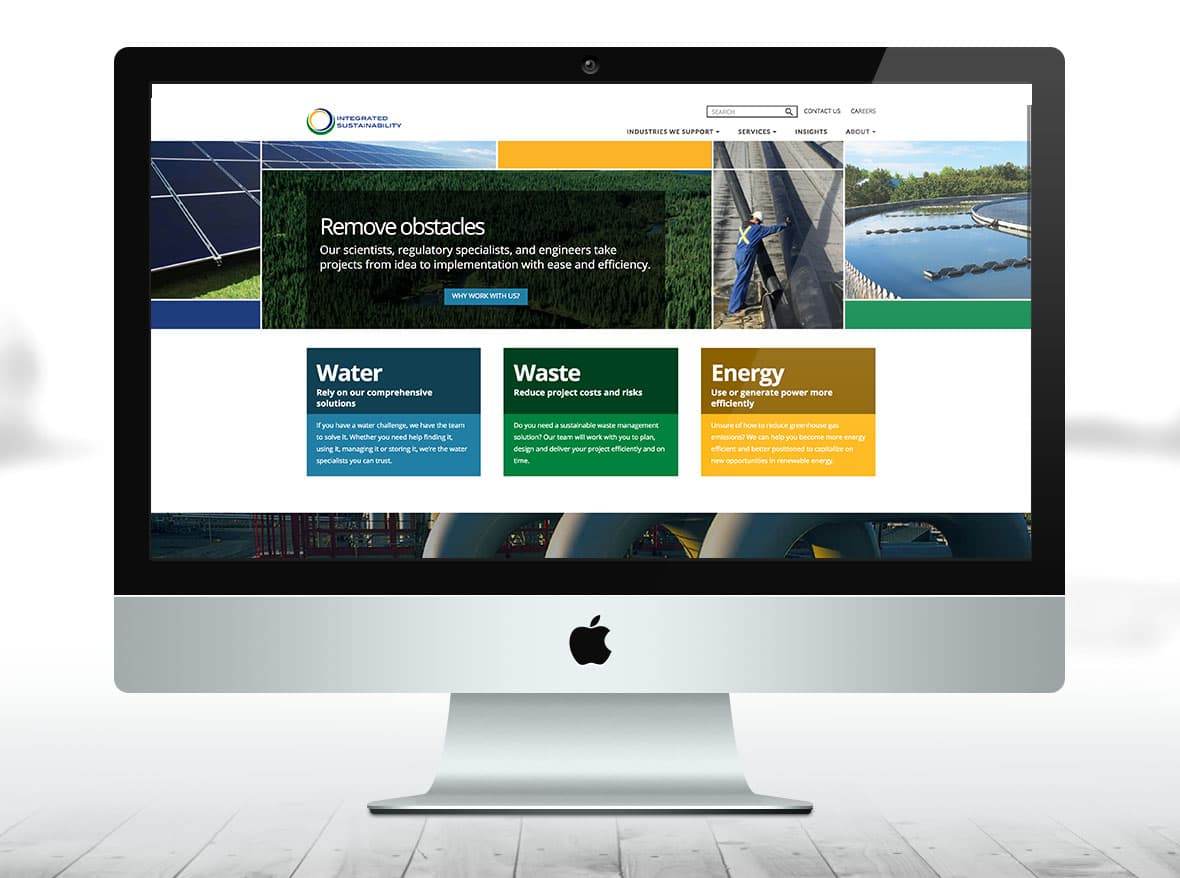 Integrated Sustainability Resources Website