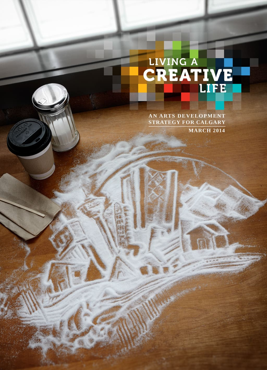 Living a Creative Life Cover