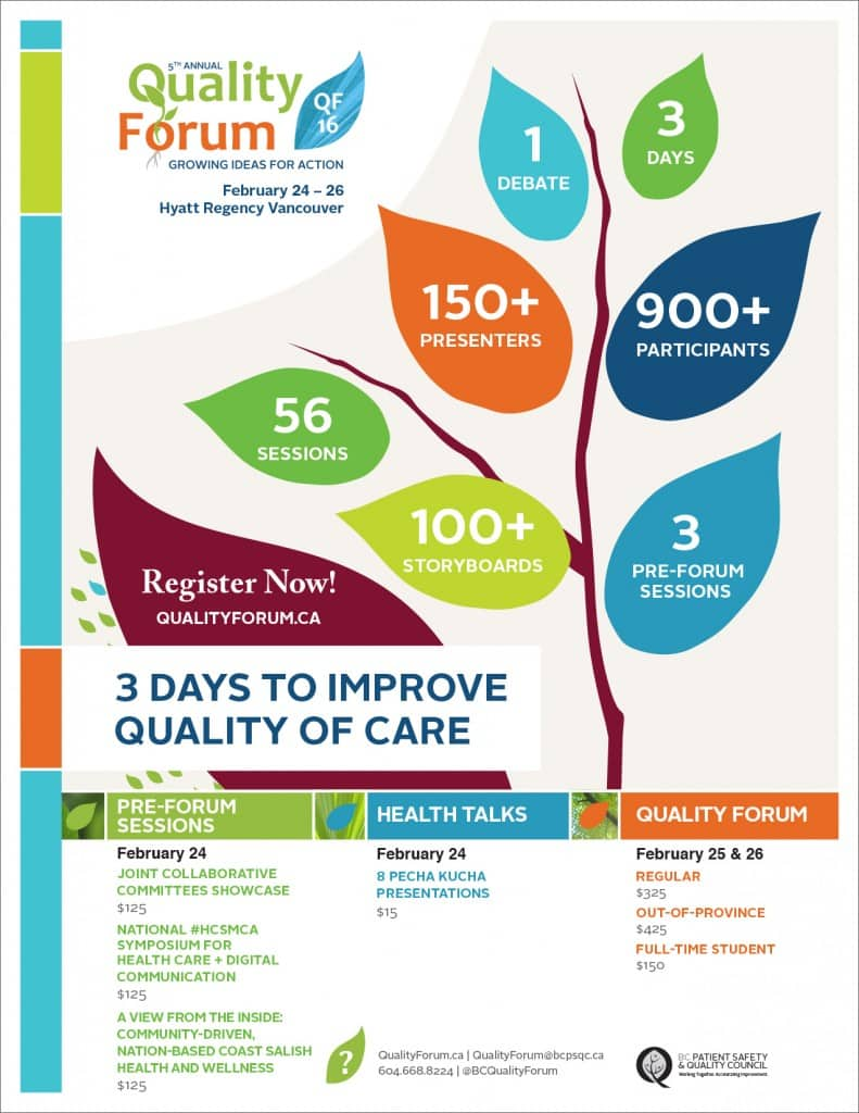 Quality Forum 2016 Poster