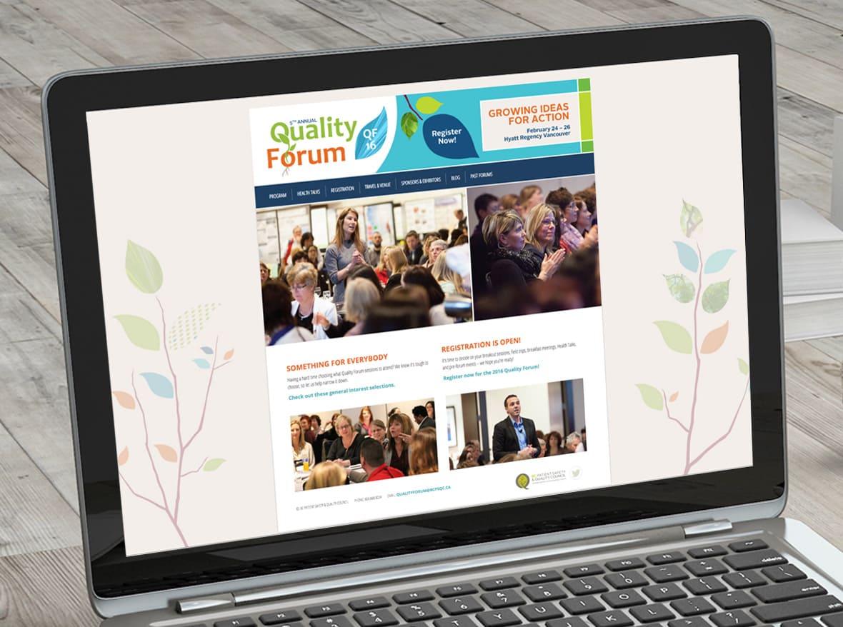 Quality Forum website