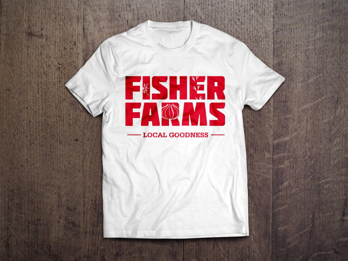 Fisher Farms tshirt design