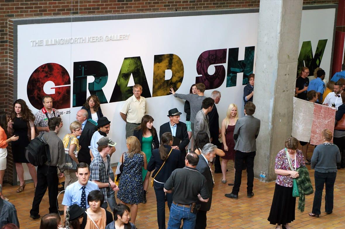 ACAD Grad Show Event Photo