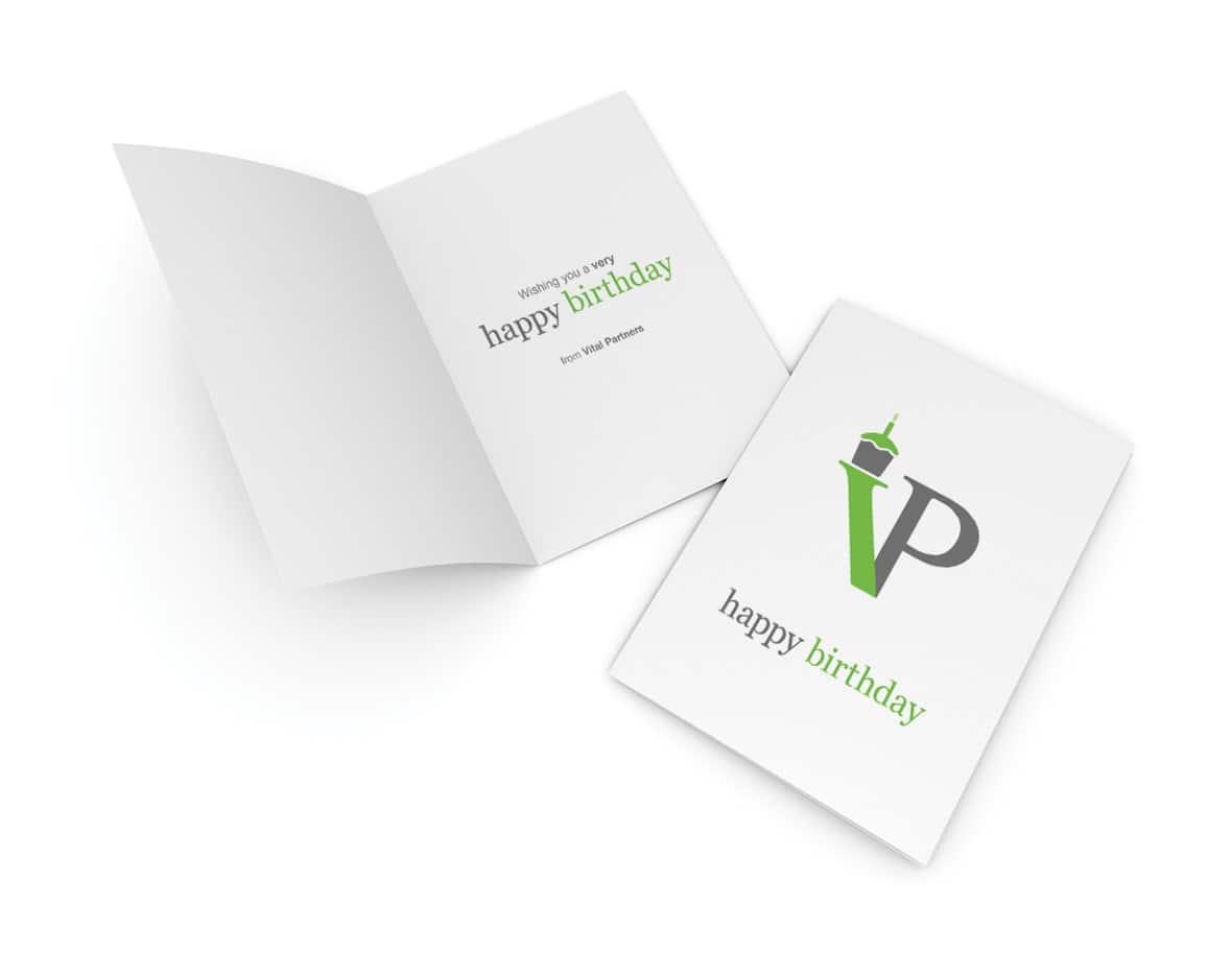 Vital Partners Birthday Card