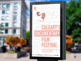 Calgary Underground Film Festival Poster