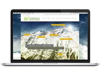 Conscious Brands website