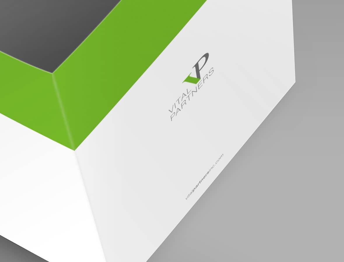 Vital Partners Folder Design