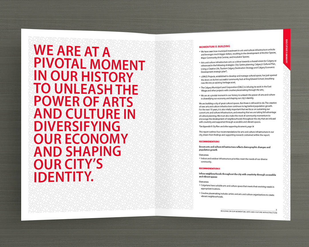 Typography in Arts and Culture Report