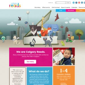 Calgary Reads website