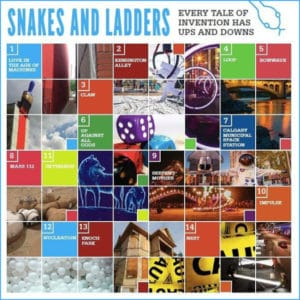 beakerhead snakes and ladders sq