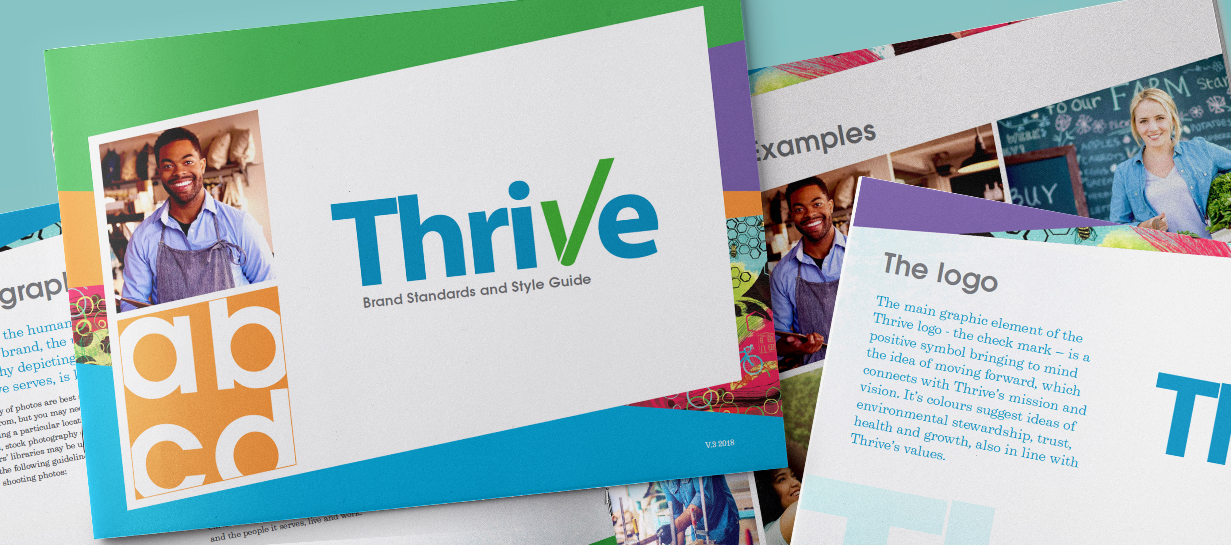 Feature Image for Thrive Brand Guide